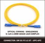 corning singlemode 9/125 2.0mm simplex G652D