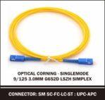 corning singlemode 9/125 3.0mm simplex G652D