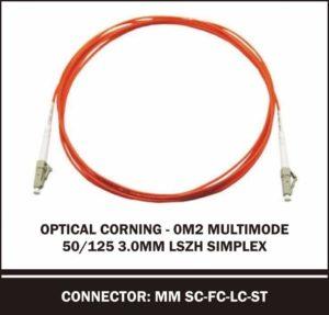 optical corning om2 multimode 50/125 3.0mm simplex