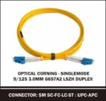optical corning singlemode 9/125 3.0mm duplex