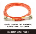 optical corning om2 multimode 50/125 3.0mm duplex