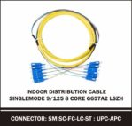 indoor distribution cable singlemode 8 core